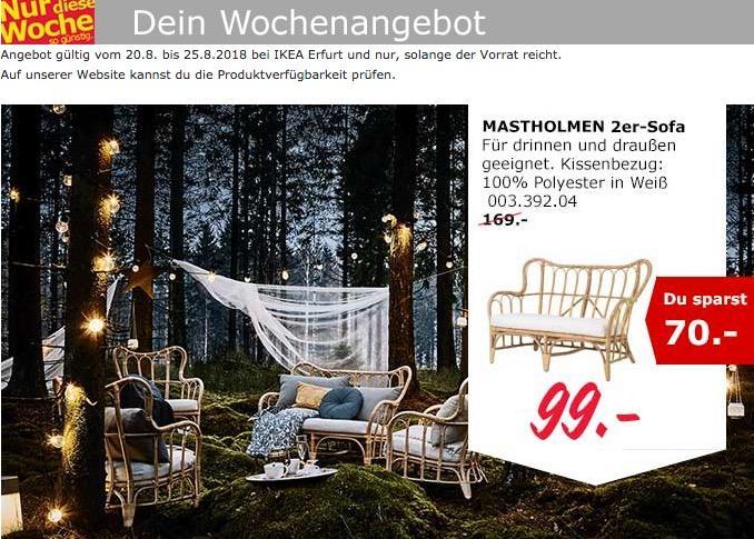 IKEA Erfurt MASTHOLMEN 2er-Sofa