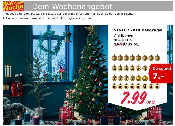 IKEA Erfurt - VINTER 2018 Dekokugel