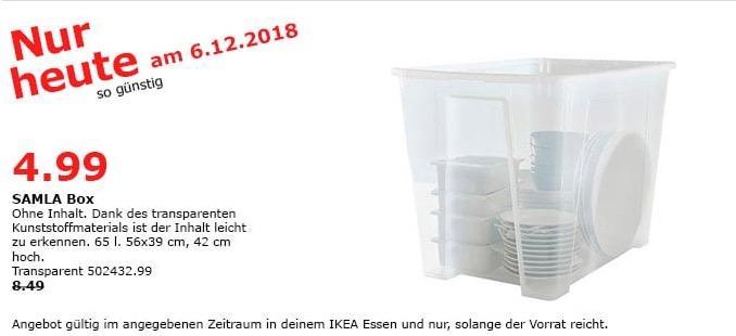 IKEA Essen - SALMA Box, 65 Liter