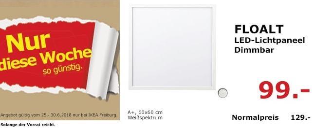 IKEA FLOALT LED-Lichtpaneel