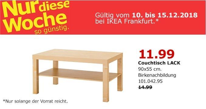 IKEA Frankfurt - LACK Couchtisch, 90x55 cm