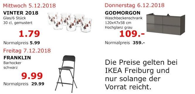 IKEA Freiburg - GODMORGON Waschbeckenschrank, 120x47x58 cm, Hochglanz grau