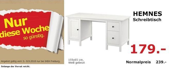IKEA Freiburg - HEMNES Schreibtisch