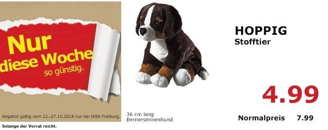 IKEA Freiburg - HOPPIG Stofftier Bernersennenhund