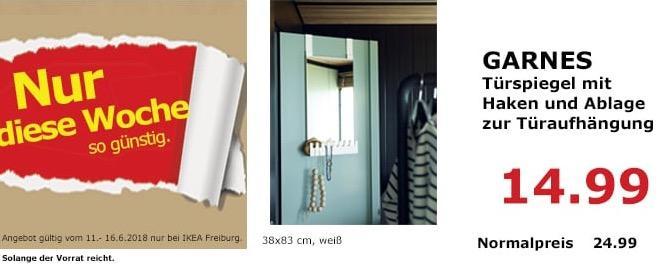 IKEA GARNES Türspiegel