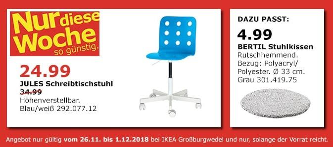 IKEA Großburgwedel - JULES Schreibtischstuhl
