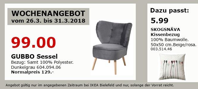 IKEA GUBBO Sessel