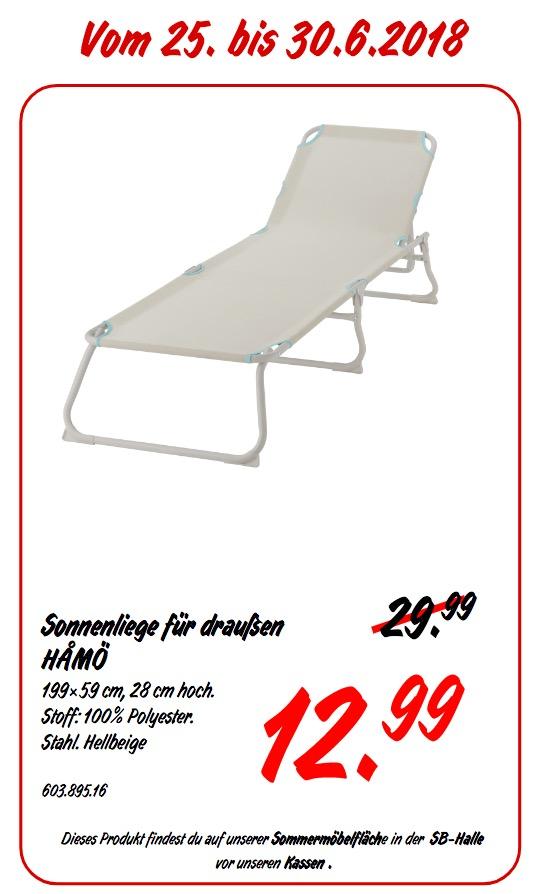 IKEA HAMÖ Sonnenliege