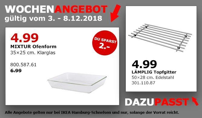 IKEA Hamburg-Schnelsen - MIXTUR Ofenform, 35x25 cm