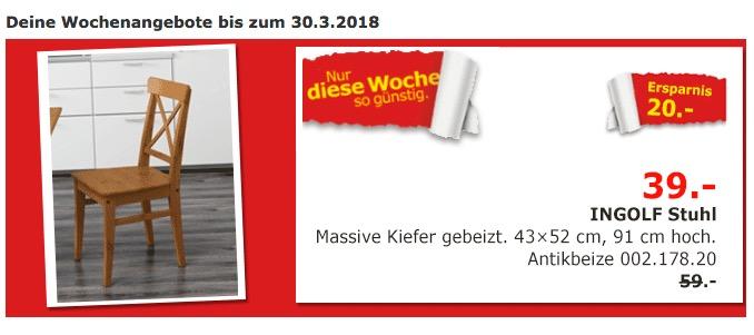IKEA INGOLF Stuhl