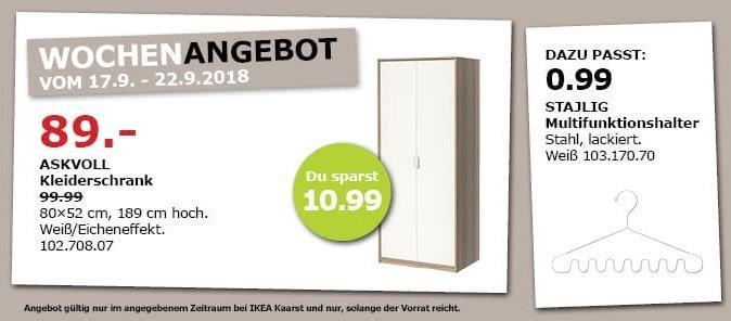 IKEA Kaarst - ASKVOLL Kleiderschrank