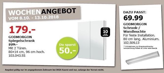 IKEA Kaarst - GODMORGON Spiegelschrank