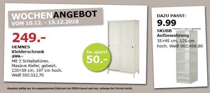 IKEA Kaarst - HEMNES Kleiderschrank mit 2 Schiebetüren