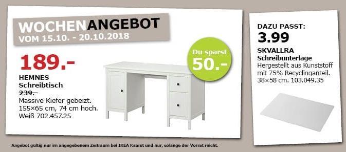 IKEA Kaarst - HEMNES Schreibtisch