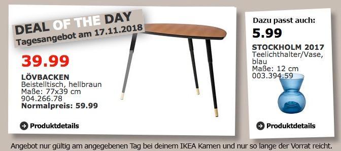 IKEA Kamen - LÖVBACKEN Beistelltisch