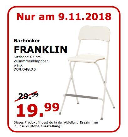 IKEA Koblenz - FRANKLIN Barhocker