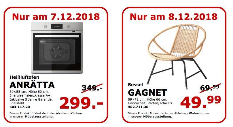 IKEA Koblenz - GAGNET Sessel, Rattan/schwarz