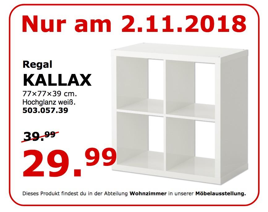 IKEA Koblenz - KALLAX Regal, 77x77x39 cm