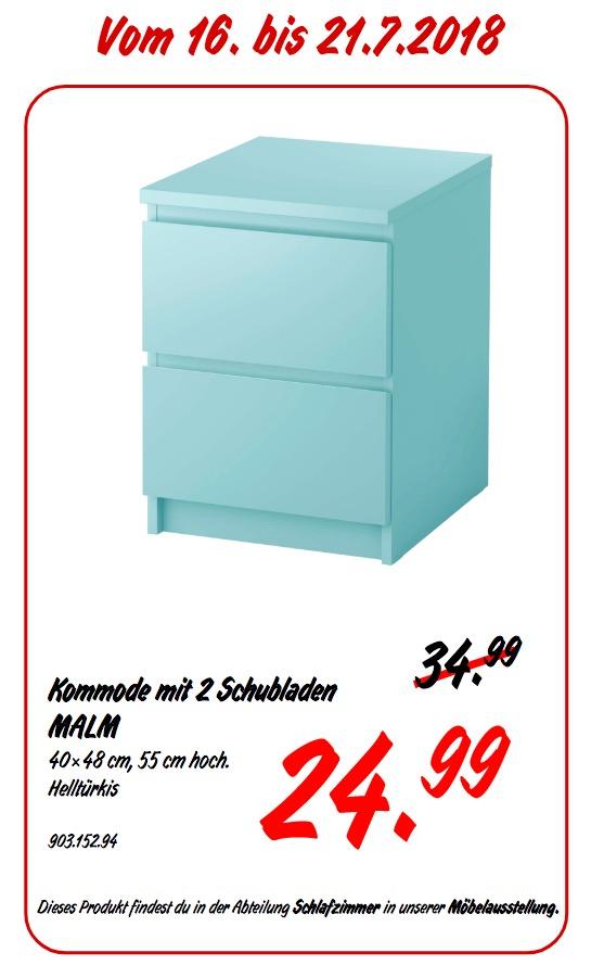 IKEA Koblenz MALM Kommode mit 2 Schubladen