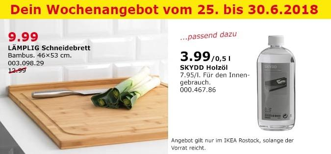 IKEA LÄMPLIG Schneidebrett