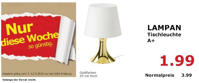 IKEA LAMPAN Tischleuchte