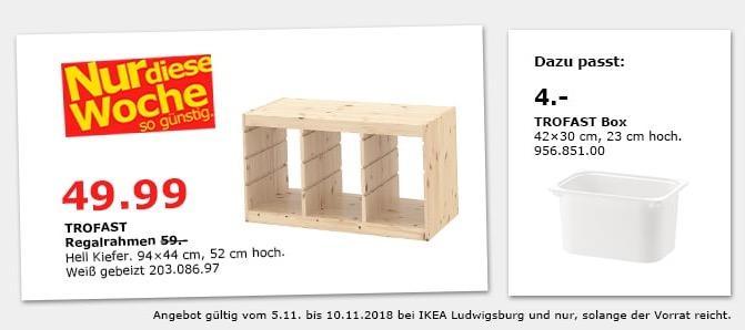 IKEA Ludwigsburg - TROFAST Regalrahmen