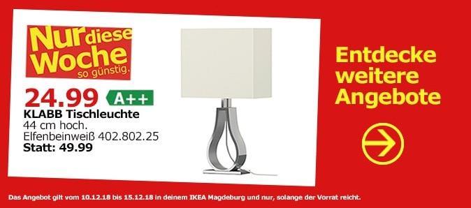 IKEA Magdeburg - KLABB Tischleuchte
