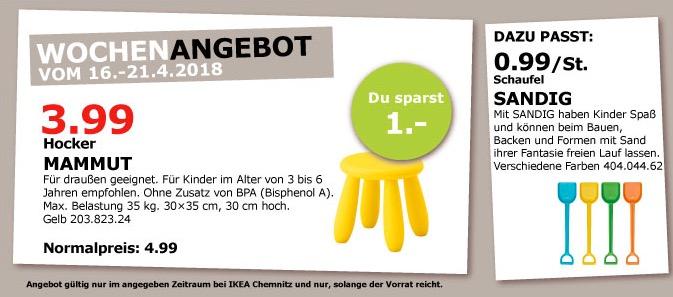 IKEA MAMMUT Hocker