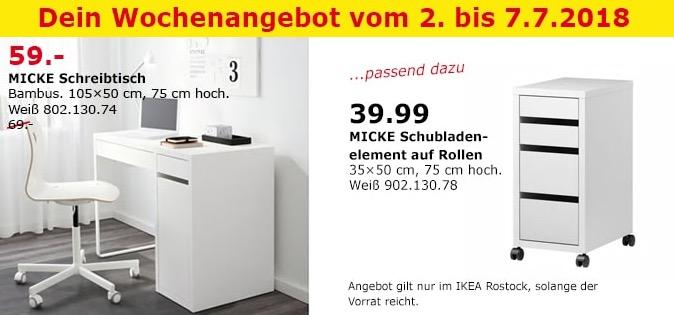 IKEA MICKE Schreibtisch