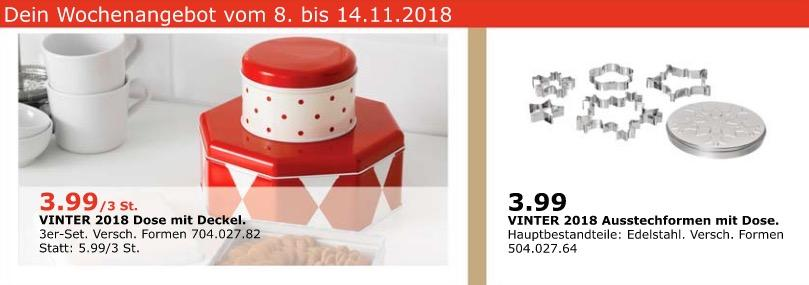 IKEA Oldenburg - VINTER 2018 Dose mit Deckel, 3er-Set