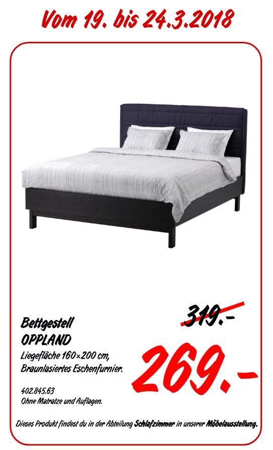 IKEA OPPLAND Bettgestell