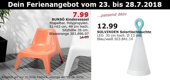 IKEA Rostock  BUNSÖ Kindersessel