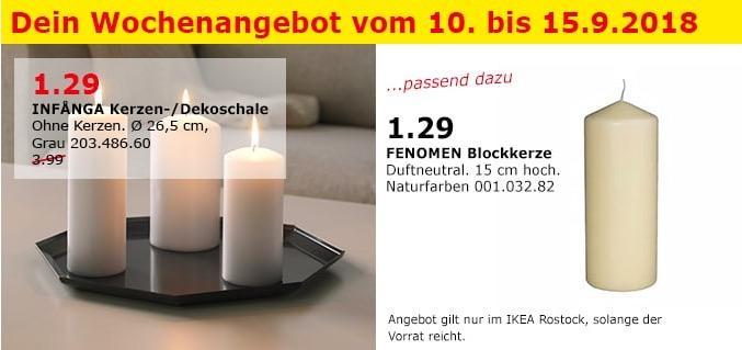 IKEA Rostock - INFANGA Kerzen- /Dekoschale