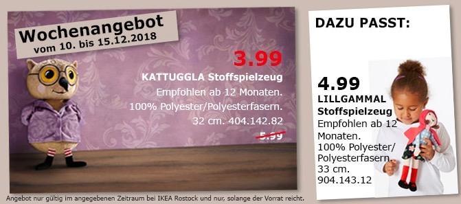 IKEA Rostock - KATTUGGLA Stoffspielzeug