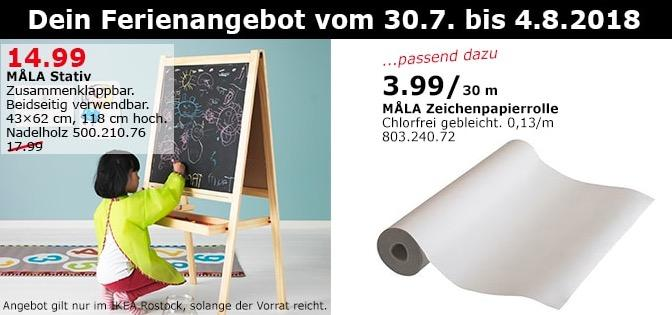 IKEA Rostock  MALA Stativ