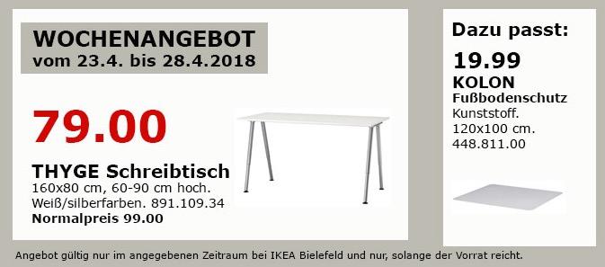 IKEA THYGE Schreibtisch