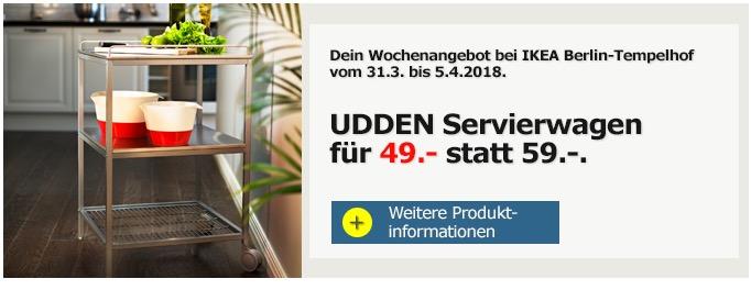 IKEA UDDEN Servierwagen