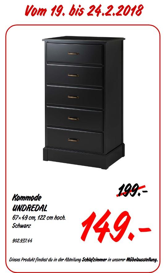 IKEA UNDREDAL Kommode