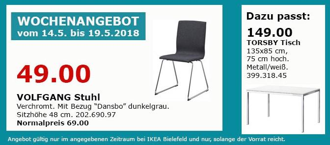 IKEA VOLFGANG Stuhl