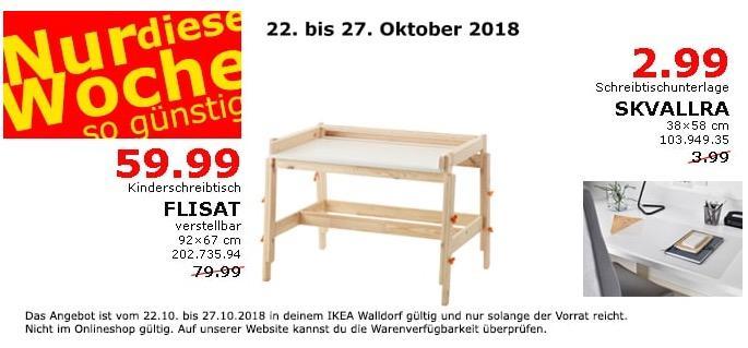 IKEA Walldorf - FLISAT Kinderschreibtisch