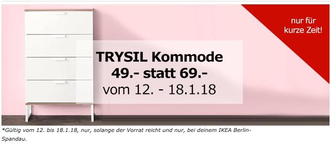 IKEATRYSIL Kommode