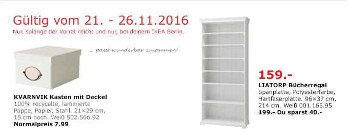 LIATORP Bücherregal Weiß 96x37cm 214 cm