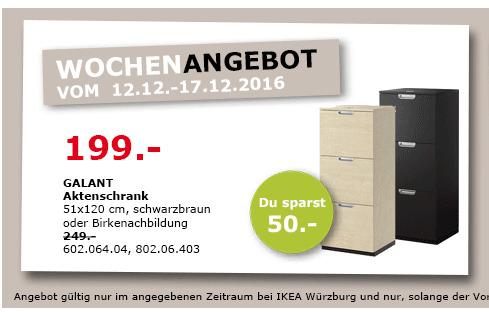 CALANT Aktenschrank 51x120cm