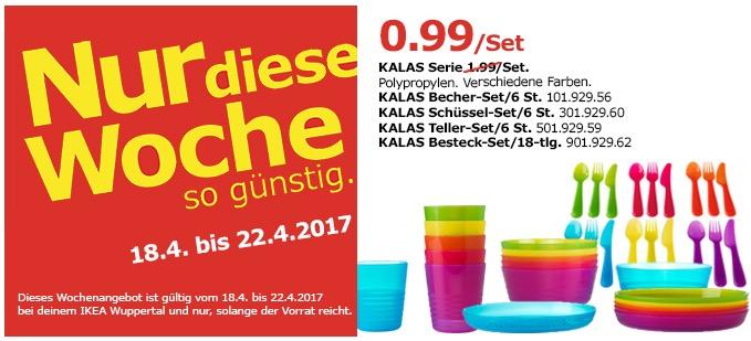IKEA KALAS Geschirr Serie Set
