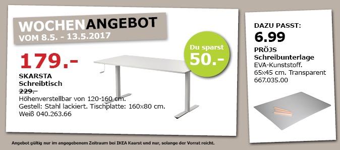 IKEA SKARSTA Schreibtisch