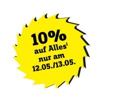 10% auf fast Alles nur am 12.05 und 13.05.2017 in Conrad Jubiläums-Filialen