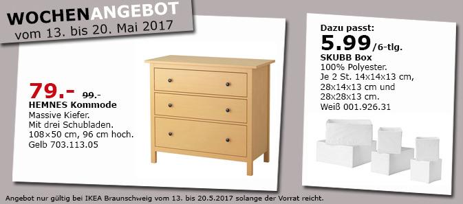 IKEA HEMNES Kommode mit 3 Schubladen, massive Kiefer, 108x50 cm, 96 cm hoch
