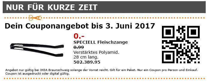 IKEA  SPECIELL Fleischzange, Verstärktes Polyamid, 28 cm, schwarz