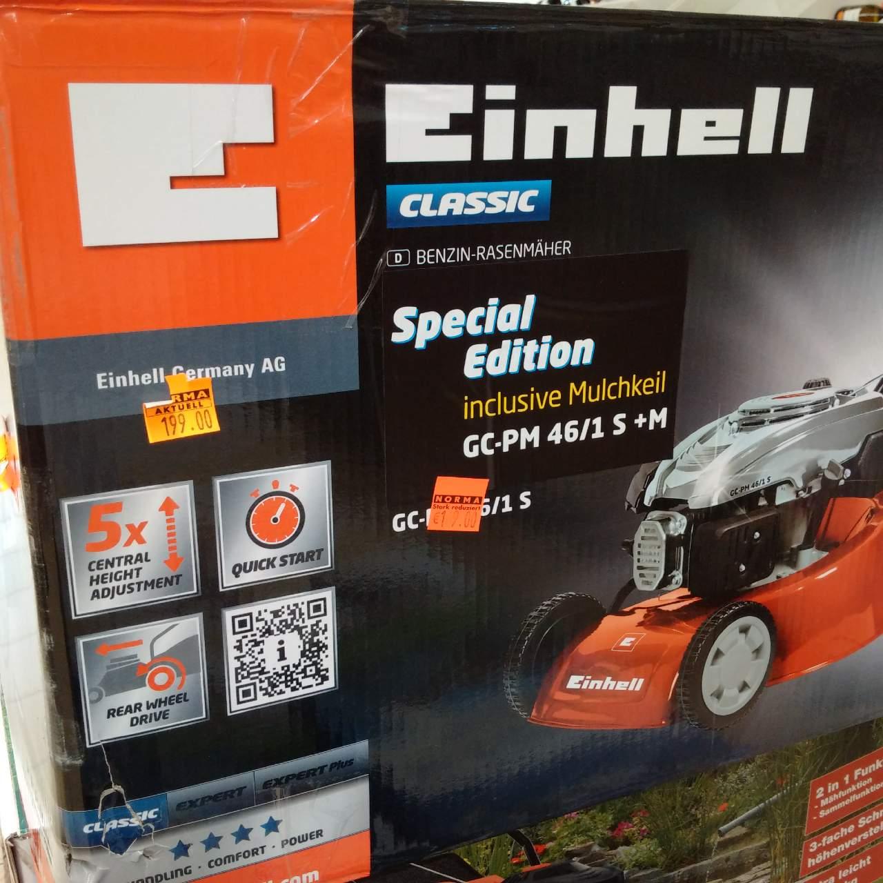 Einhell Benzin Rasenmäher GC-PM 51/2 S