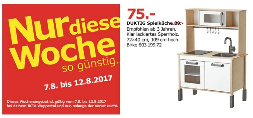 IKEA DUKTIG Spielküche, 72x40cm, 109 cm hoch, birke
